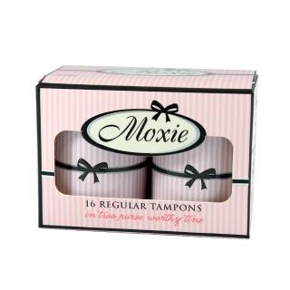 【Moxie 魔晰】衛生棉條 - 一般型(16入/盒)