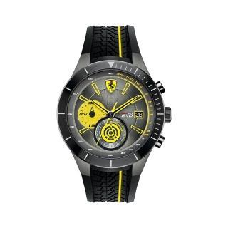 【FERRARI】法拉利決定速度運動腕錶(黃/0830342)