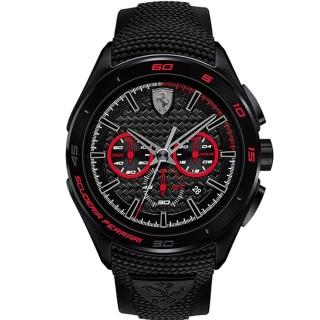 【FERRARI】法拉利決定速度運動腕錶(紅/0830344)