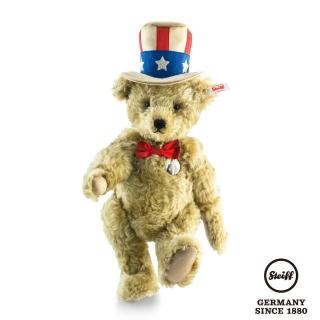 【STEIFF德國金耳釦泰迪熊】Uncle Sam Teddy Bear(海外限量版)
