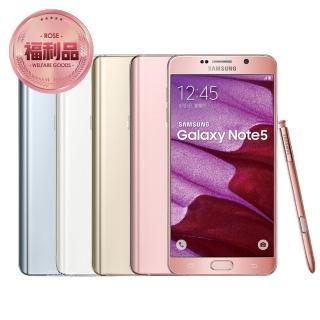 【Samsung 福利品】GALAXY Note 5 32GB 5.7 吋4G雙卡雙待智慧機(N9208)