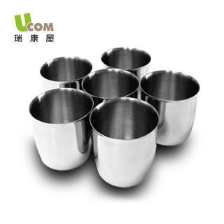 【U.com】不鏽鋼茶碗蒸杯6入