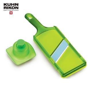 【瑞士Kuhn Rikon】精選廚房5金瑞士蔬果切片刀/綠