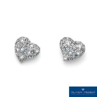 【OLIVER WEBER】奧地利設計師品牌/施華洛世奇水晶-真愛耳環