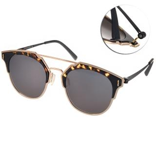 【VYCOZ 太陽眼鏡】2016時尚貓眼新款(琥珀-金#MOCA GOL-BLACK)