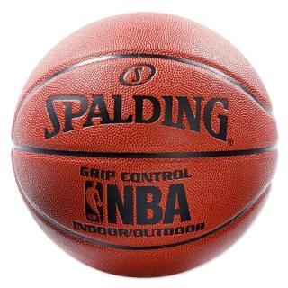 【SPALDING】斯伯丁 NBA Grip Control 籃球 PU 7號球(經典橘)