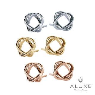 【A-LUXE 亞立詩】18K金編織耳環
