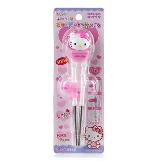 【Hello Kitty】3D不鏽鋼學習筷子