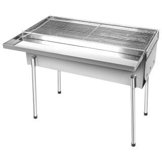【點秋香】YES 2尺不鏽鋼高腳香腸爐/烤肉架-中秋/野餐/露營必備