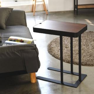 【樂活主義】北歐風上掀式可調高度側邊邊桌/小茶几