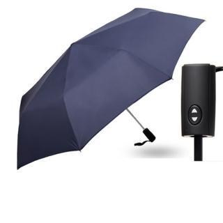 【PUSH! 好聚好傘】一鍵開收全自動傘雨傘遮陽傘晴雨傘三摺傘折疊傘(125CM I63)