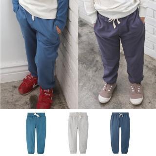 【baby童衣】兒童長褲 鬆緊綁帶運動休閒褲 60234(共3色)