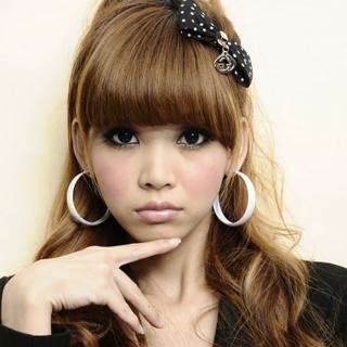 【Lady c.c.】迷幻彩染中圈圈耳環