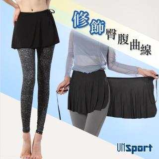 【Un-Sport高機能】高彈透氣萬用一片式運動短裙(瑜伽/健身/跳舞)