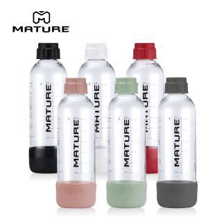 【美國iSODA】氣泡水機專用寶特瓶1L 一入(三色可選)