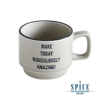 【日本 SPICE】典雅 氣質 灰色 陶瓷紋理(咖啡杯 - S)