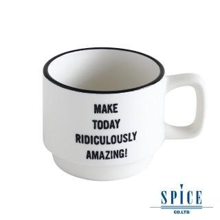 【日本 SPICE】典雅 氣質 白色 陶瓷紋理(咖啡杯 - S)