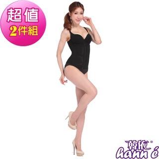 【韓依 HANN.E】560丹-魔術秒穿脫記憶護腰夾(產後必備塑身瘦身腰帶男女皆適穿超值2件組101B)