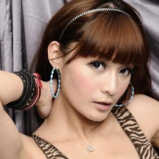 【Lady c.c.】寬版 L 造型大圈圈耳環