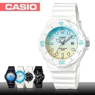 【CASIO 卡西歐】潛水風格-學生/青少年指針錶_鏡面3.4cm(LRW-200H)