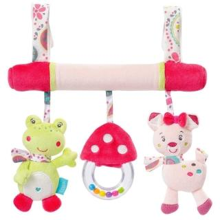 【JJOVCE】可愛動物嬰兒推車掛件玩具