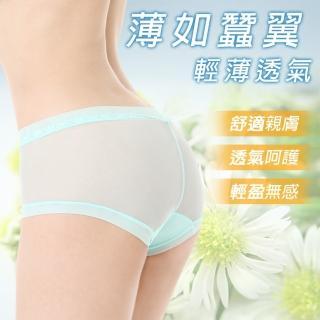 冰絲薄透蕾絲褲(8件1組)