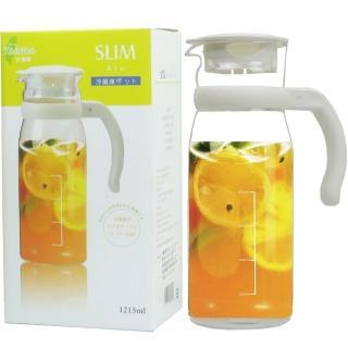 【SYG台玻】台灣耐熱玻璃涼水瓶1215ml(買1送1)