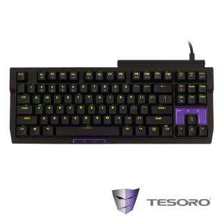 【TESORO鐵修羅】TIZONA鐵聖納 機械式鍵盤-青軸中文