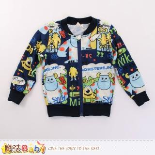 【魔法Baby】外套 兒童薄款長袖外套(k60097)