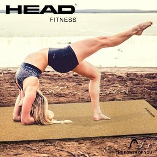【HEAD 海德】天然軟木瑜珈墊