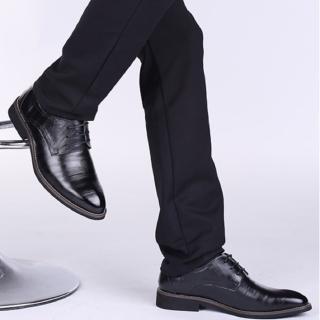 【美國熊】二層牛皮 輕量舒適 男士商務 婚禮皮鞋 業務鞋(SH-2538)