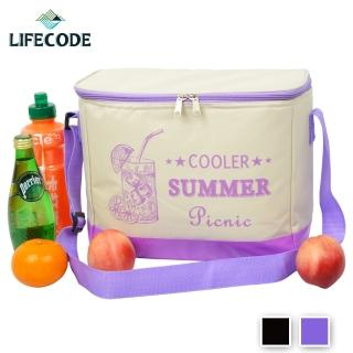 【LIFECODE】COOLER飲料保冰袋-2色可選(10L)