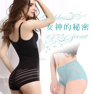 【貝醉美】寵愛女人完美雕塑蹦帶褲(1601繃帶褲*2+417蕾絲褲*2)