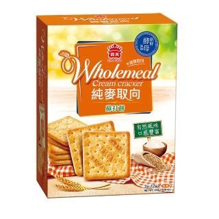 【義美】健康取向純麥蘇打餅(410公克)