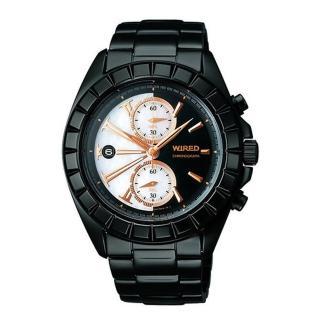 【ALBA】WIRED 東京潮流神秘黑限量腕錶(AGAV758 / 7T94-0BP0W)