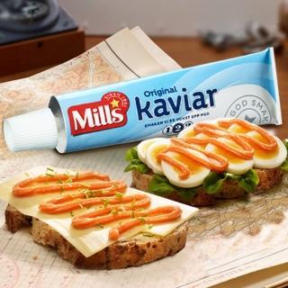 挪威百年品牌Mills煙燻冰鱈魚子醬4件組(K)