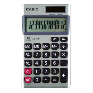 【卡西歐CASIO】國家考試計算機/12位元/SX-320P