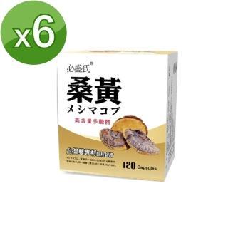 【草本之家】桑黃菇子實體(120粒X6盒)
