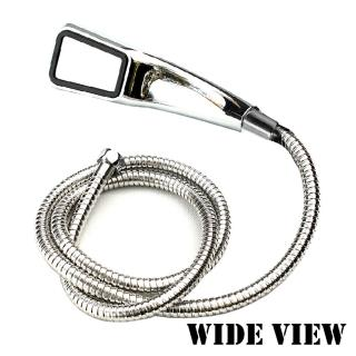 【WIDE VIEW】300孔增壓省水蓮蓬頭蛇管組(ZH-300-P)