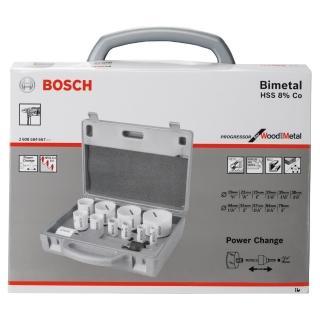 【BOSCH】HSS 雙金屬圓穴鋸套裝14件套裝組