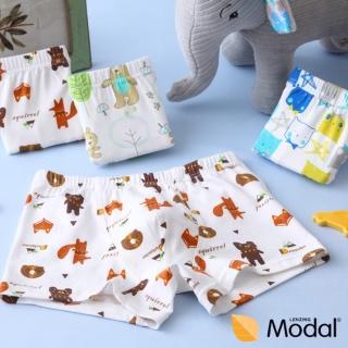 【Lolo squirrel】熊熊森林漫遊-男童內褲-3入裝(100-130cm)