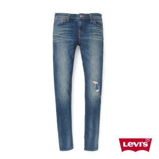 【Levis】711 緊身窄管牛仔褲 / 復古破壞 / 海報款 / 亞洲版