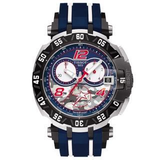 【TISSOT】天梭 T-Race Nicky Hayden 限量賽車計時腕錶(T0924172705703)