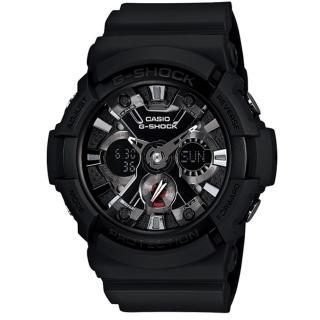 【CASIO/G-SHOCK】酷炫任我行運動腕錶(GA-201-1ADR)