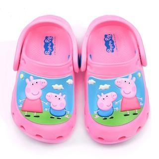 【童鞋城堡】粉紅豬小妹 中童 花園鞋(PG0001-粉)
