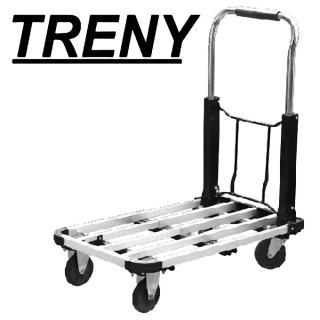 【TRENY】伸縮鋁製載物車-荷重100KG .(9897)