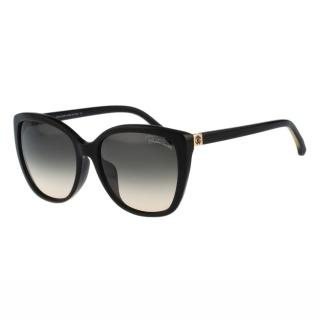 【Roberto Cavalli】-簡約太陽眼鏡(黑色)