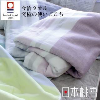 【日本桃雪】日本製原裝進口今治毛巾被