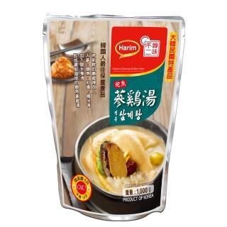 【韓味不二】夏林鮑魚人蔘雞湯(1kg)
