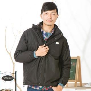 型男防風防潑水內刷毛保暖機能外套